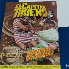Tebeos: REVISTA EL CAPITÁN TRUENO Nº 62 - EDICIÓN HISTÓRICA - EDICIONES B 1987. Lote 276210718