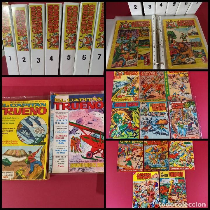 EL CAPITAN TRUENO EXTRA COMPLETA CON SUS 11 EXTRAORDINARIOS -438 EJEMPLARES (Tebeos y Comics - Bruguera - Capitán Trueno)