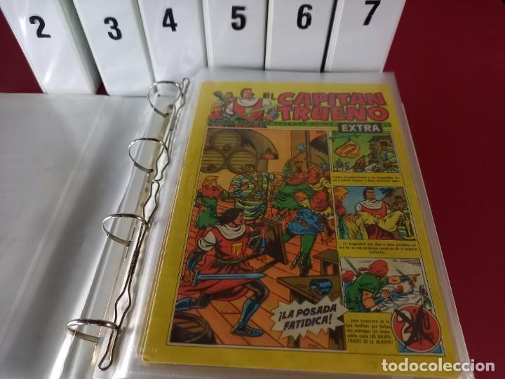 Tebeos: EL CAPITAN TRUENO EXTRA COMPLETA CON SUS 11 EXTRAORDINARIOS -438 EJEMPLARES - Foto 3 - 276244803