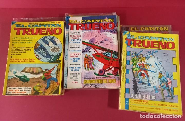 Tebeos: EL CAPITAN TRUENO EXTRA COMPLETA CON SUS 11 EXTRAORDINARIOS -438 EJEMPLARES - Foto 6 - 276244803