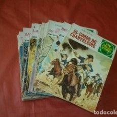 Tebeos: LOTE DE 40 NÚMEROS DE JOYAS LITERARIAS JUVENILES DE LA EDITORIAL BRUGUERA. Lote 276245993