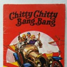 BDs: CHITTY CHITTY BANG BANG LLUVIA DE ESTRELLAS BRUGUERA N° 8 1971. Lote 276440443