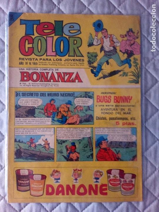 TELE COLOR Nº 185 BRUGUERA MUY DIFÍCIL (Tebeos y Comics - Bruguera - Tele Color)