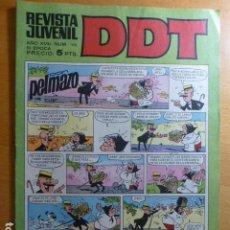 BDs: COMIC DDT Nº 115 DE BRUGUERA. Lote 276616028