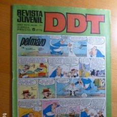 Tebeos: COMIC DDT Nº 111 DE BRUGUERA. Lote 276616458