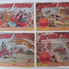 Tebeos: LOTE TEBEOS EL CAPITÁN TRUENO - 4Nº 332, 333, 334, 336, ORIGINALES 1956. Lote 276653548