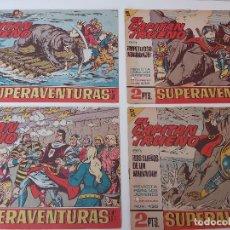 Tebeos: LOTE TEBEOS EL CAPITÁN TRUENO - 4Nº 432, 433, 434, 435, ORIGINALES 1956. Lote 276683318