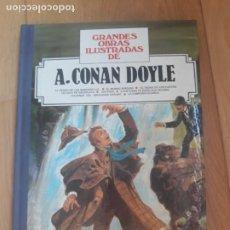 Tebeos: GRANDES OBRAS ILUSTRADAS DE CONAN DOYLE SHERLOCK HOLMES BRUGUERA TOMO Nº 11 1ª EDICIÓN. Lote 276721643