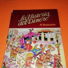 Tebeos: MORTADELO. LA HISTORIA DEL DINERO. BANKUNION. EDITORIAL BRUGUERA 1980. Lote 276728048