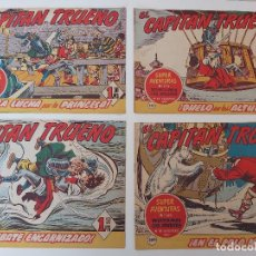 Tebeos: LOTE TEBEOS EL CAPITÁN TRUENO - 4Nº 286, 287, 288, 289, ORIGINALES ¡EN PERFECTO ESTADO! 1956. Lote 276748483