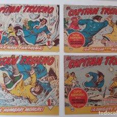 Tebeos: LOTE TEBEOS EL CAPITÁN TRUENO - 4Nº 291, 292, 293, 294, ORIGINALES ¡EN PERFECTO ESTADO! 1956. Lote 276748753