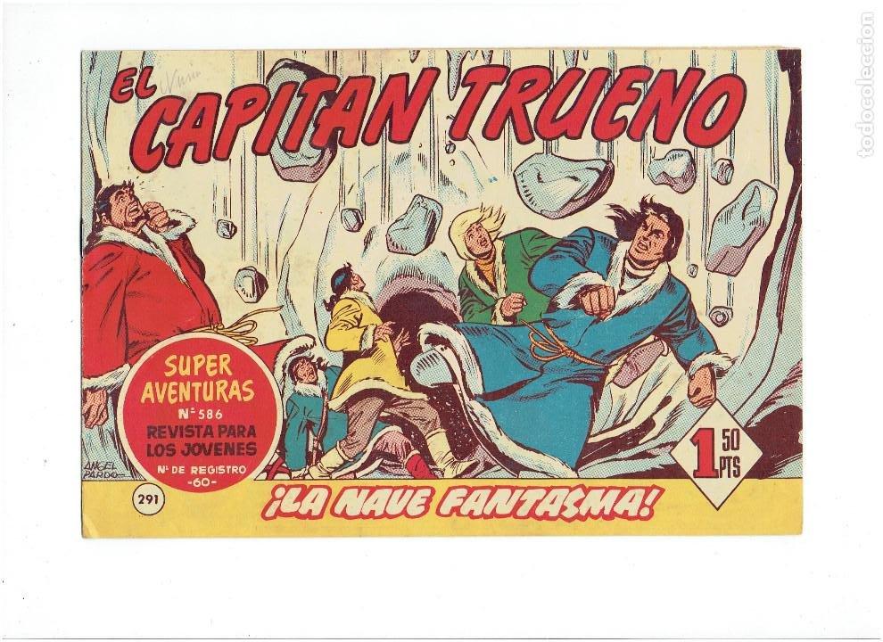 Tebeos: LOTE TEBEOS EL CAPITÁN TRUENO - 4Nº 291, 292, 293, 294, ORIGINALES ¡EN PERFECTO ESTADO! 1956 - Foto 2 - 276748753