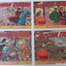 Tebeos: LOTE TEBEOS EL CAPITÁN TRUENO - 4Nº 307, 308, 310, 311, ORIGINALES ¡EN PERFECTO ESTADO! 1956. Lote 276749808