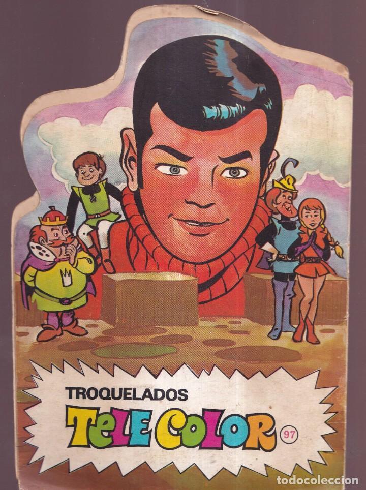 Tebeos: GULLIVER, Y EL REY LILIPUT - HANNAH BARBERA - TROQUELADOS TELE COLOR BRUGUERA 1971 - Foto 2 - 276785718