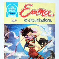 Tebeos: JOYAS LITERARIAS JUVENILES SERIE AZUL 83. EMMA ES ENCANTADORA. BRUGUERA, 1983. Lote 276908033