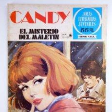 Tebeos: JOYAS LITERARIAS JUVENILES SERIE AZUL 63. CANDY. EL MISTERIO DEL MALETÍN. BRUGUERA, 1981. OFRT. Lote 276908073