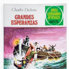 Tebeos: JOYAS LITERARIAS JUVENILES Nº 150 CHARLES DICKENS GRANDES ESPERANZAS 1979 EXCELENTE. Lote 276950123