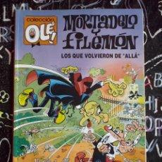 Tebeos: COLECCION OLE - MORTADELO Y FILEMON : LOS QUE VOLVIERON DE ALLA NUM. 345 . BUEN ESTADO ALTOO. Lote 277011938