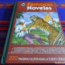 Tebeos: FAMOSAS NOVELAS XIX 19. BRUGUERA 1ª ED. 1982. LA LLAMADA DE LA SELVA, EL PERRO LOS BASKERVILLE. RARO. Lote 277049723