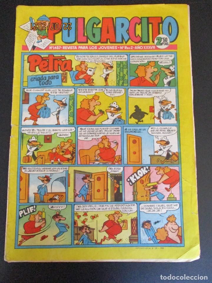 PULGARCITO (1946, BRUGUERA) 1437 · 17-XI-1958 · PULGARCITO (Tebeos y Comics - Bruguera - Pulgarcito)