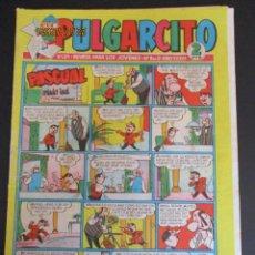 Tebeos: PULGARCITO (1946, BRUGUERA) 1371 · 16-VIII-1957 · PULGARCITO. Lote 277067768