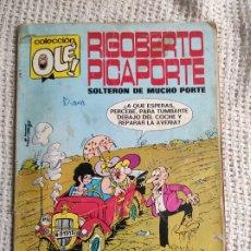 Tebeos: RIGOBERTO PICAPORTE, SOLTERON DE MUCHO PORTE, COLECCIÓN OLÉ Nº 7 - BRUGUERA. Lote 277080128