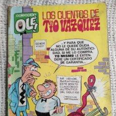 Tebeos: LOS CUENTOS DEL TÍO VAZQUEZ ( COLECCIÓN OLE ) 25-V.5 -EDITA - EDICIONES B. Lote 277082198