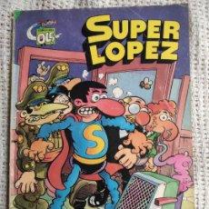 Tebeos: COLECCION OLE SUPER LOPEZ Nº 4 - LOS ALIENIGENAS /EDITA: BRUGUERA. Lote 277082433