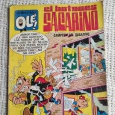 Tebeos: COLECCIÓN OLE Nº 15 EL BOTONES SACARINO , CAMPEON DEL DESATINO - BRUGUERA 1980. Lote 277084188