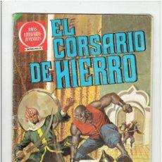 Tebeos: ARCHIVO * EL CORSARIO DE HIERRO Nº 4 - JOYAS LITERARIAS JUVENILES * SERIE ROJA * BRUGUERA 1980 *. Lote 277091968