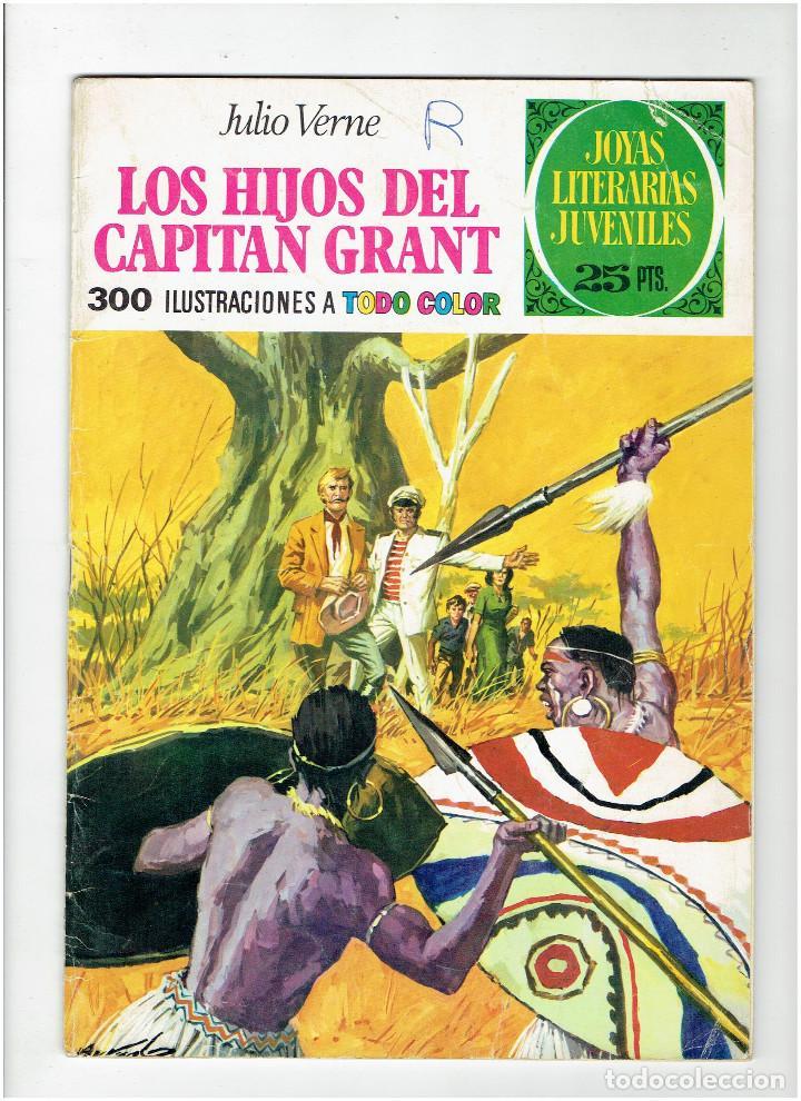 ARCHIVO * JOYAS LITERARIAS JUVENILES Nº 9. LOS HIJOS DEL CAPITAN GRANT. JULIO VERNE. 3ª ED. 1975. (Tebeos y Comics - Bruguera - Joyas Literarias)