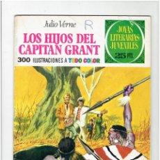 Tebeos: ARCHIVO * JOYAS LITERARIAS JUVENILES Nº 9. LOS HIJOS DEL CAPITAN GRANT. JULIO VERNE. 3ª ED. 1975.. Lote 277097763