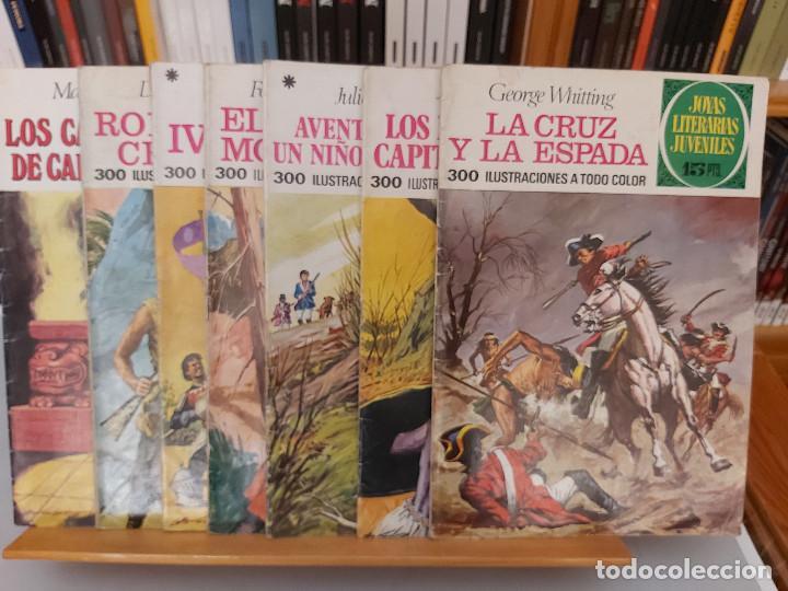 Tebeos: Archivo * JOYAS LITERARIAS JUVENILES Nº 9. LOS HIJOS DEL CAPITAN GRANT. JULIO VERNE. 3ª ED. 1975. - Foto 2 - 277097763