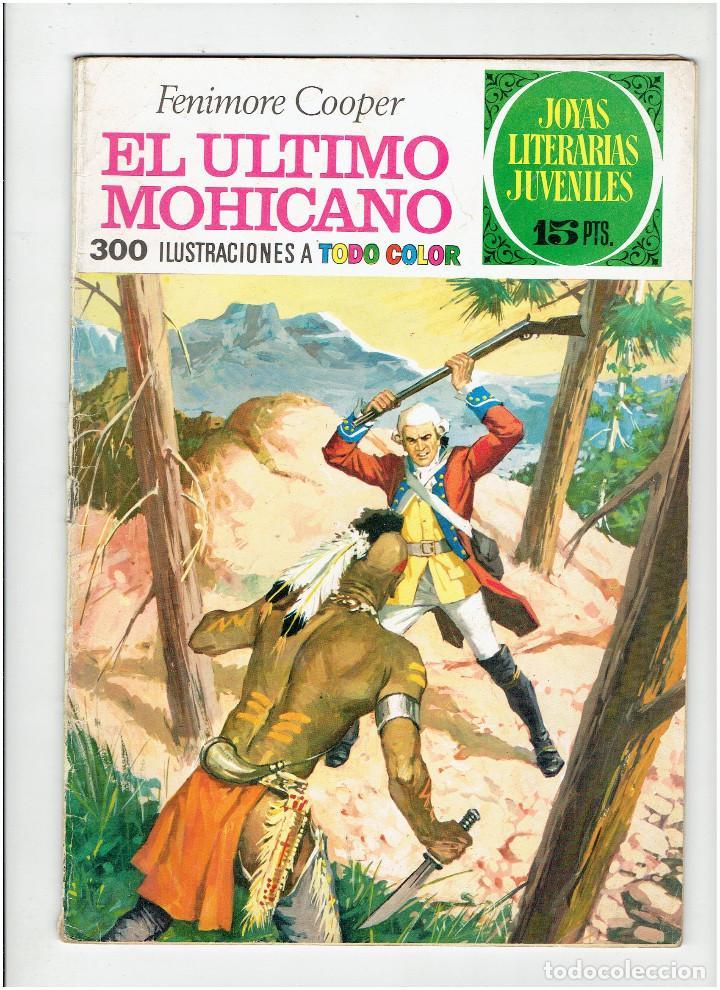 ARCHIVO * JOYAS LITERARIAS JUVENILES * Nº 12 EL ULTIMO MOHICANO * EDI BRUGUERA AÑO 1970 * (Tebeos y Comics - Bruguera - Joyas Literarias)