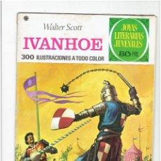 Tebeos: ARCHIVO * JOYAS LITERARIAS JUVENILES * Nº 16: IVANHOE - 4º EDICIÓN 1977 * EDITORIAL BRUGUERA *. Lote 277099288