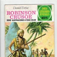 Tebeos: ARCHIVO * JOYAS LITERARIAS JUVENILES * Nº 53: ROBINSON CRUSOE * 2º EDICIÓN 1972 * EDIT. BRUGUERA *. Lote 277100298