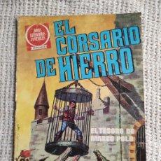 Tebeos: EL CORSARIO DE HIERRO Nº 6 - JOYAS LITERARIAS JUVENILES. Lote 277132458