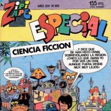 Livros de Banda Desenhada: ZIPI ZAPE ESPECIAL - CIENCIA FICCIÓN - Nº 165 DE 167 - 1988 - BRUGUERA -. Lote 277152378