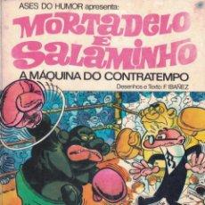 Tebeos: MORTADELO & SALAMINHO - A MÁQUINA DO CONTRATEMPO. Lote 277201878