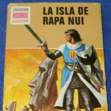 Tebeos: LA ISLA DE RAPA NUI - EL CAPITÁN TRUENO - HISTORIAS SELECCIÓN - BRUGUERA. Lote 277202013