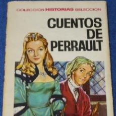 Tebeos: CUENTOS DE PERRAULT - HISTORIAS SELECCIÓN - BRUGUERA. Lote 277203753