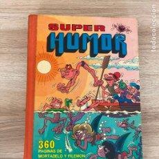 Tebeos: SUPER HUMOR 1 I MORTADELO Y FILEMON. 1ª EDICION BRUGUERA 1975. Lote 277238728