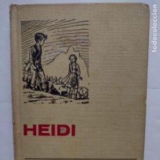 Tebeos: HEIDI - Nº 3 - JUANA SPYRI - COL. HISTORIAS SELECCION - AÑO 1969 BRUGUERA. Lote 277240213