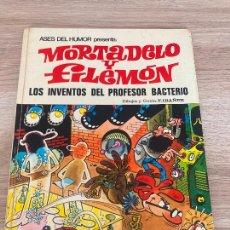Tebeos: ASES DEL HUMOR Nº 14 MORTADELO Y FILEMON. LOS INVENTOS DEL PROFESOR BACTERIO BRUGUERA 1972. Lote 277241263