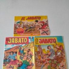 Tebeos: LOTE EL JABATO ALMANAQUE, EXTRA Y FACSÍMIL REEDICIÓN EDITORIAL BRUGUERA. Lote 277258478