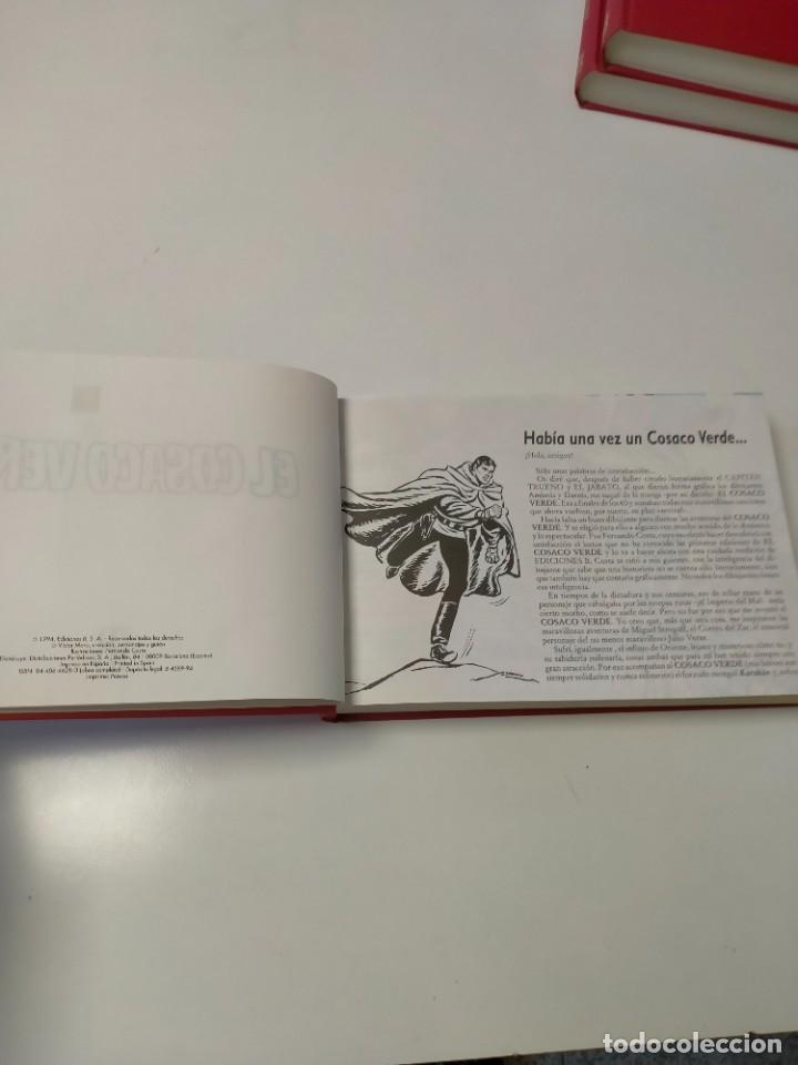 Tebeos: El Cosaco Verde Colección Completa Reedición Año 1994 144 Fascículos Ediciones B - Foto 5 - 277262433