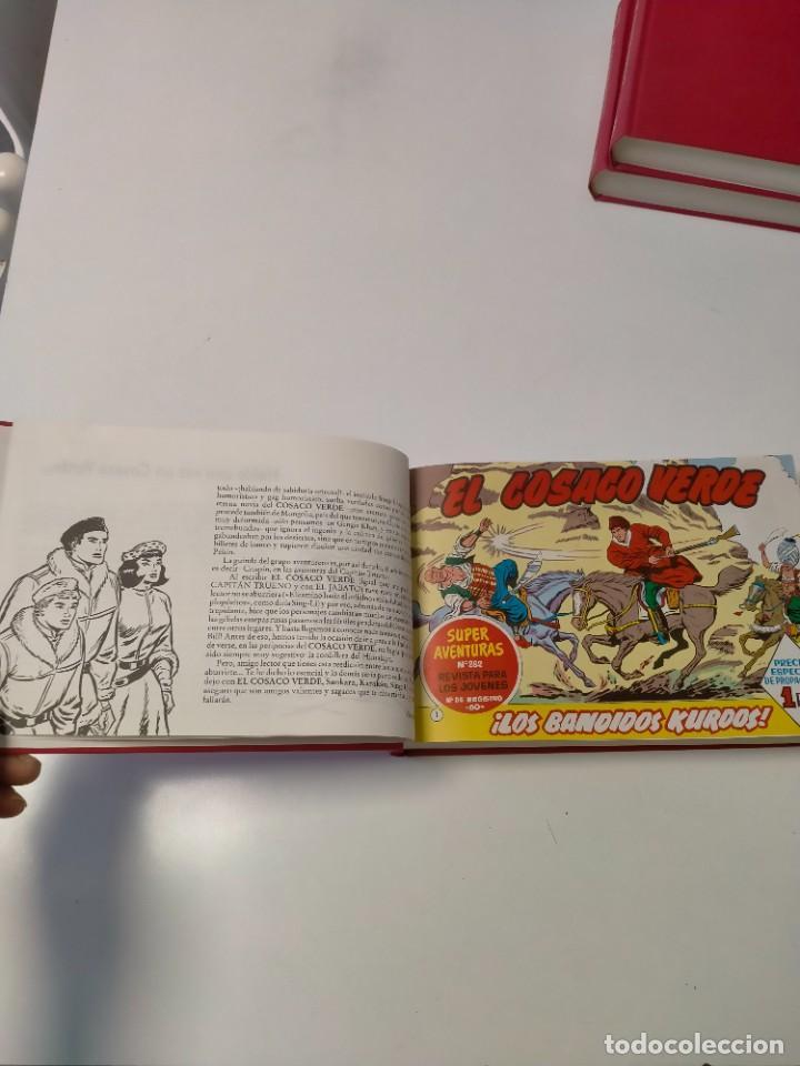 Tebeos: El Cosaco Verde Colección Completa Reedición Año 1994 144 Fascículos Ediciones B - Foto 6 - 277262433