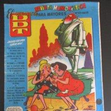 Tebeos: DDT (1951, BRUGUERA) -CONTRA LAS PENAS- 325 · 8-VIII-1957 · EL DDT. Lote 277268768