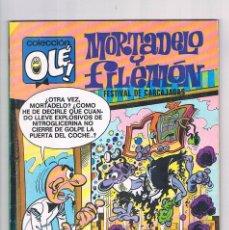 Tebeos: COMIC MORTADELO Y FILEMON COLECCION OLE FESTIVAL DE CARCAJADAS 1990. Lote 277275053