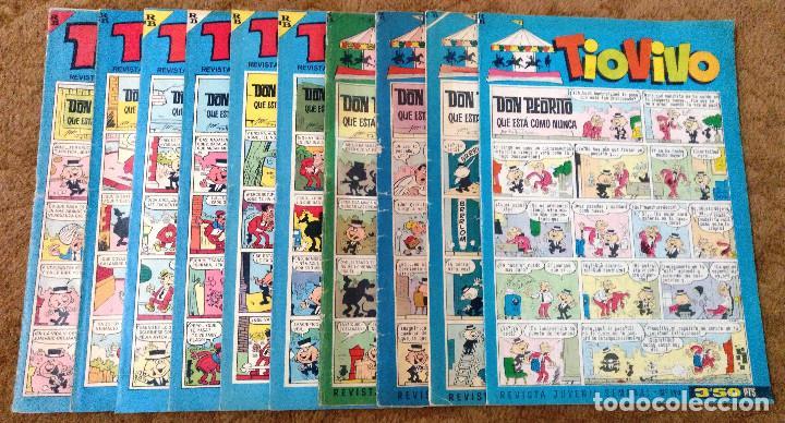 TIO VIVO Nº 190, 191, 242, 301, 315, 316, 320, 325, 327 Y 335 (BRUGUERA 1964/67) 10 TEBEOS. (Tebeos y Comics - Bruguera - Tio Vivo)